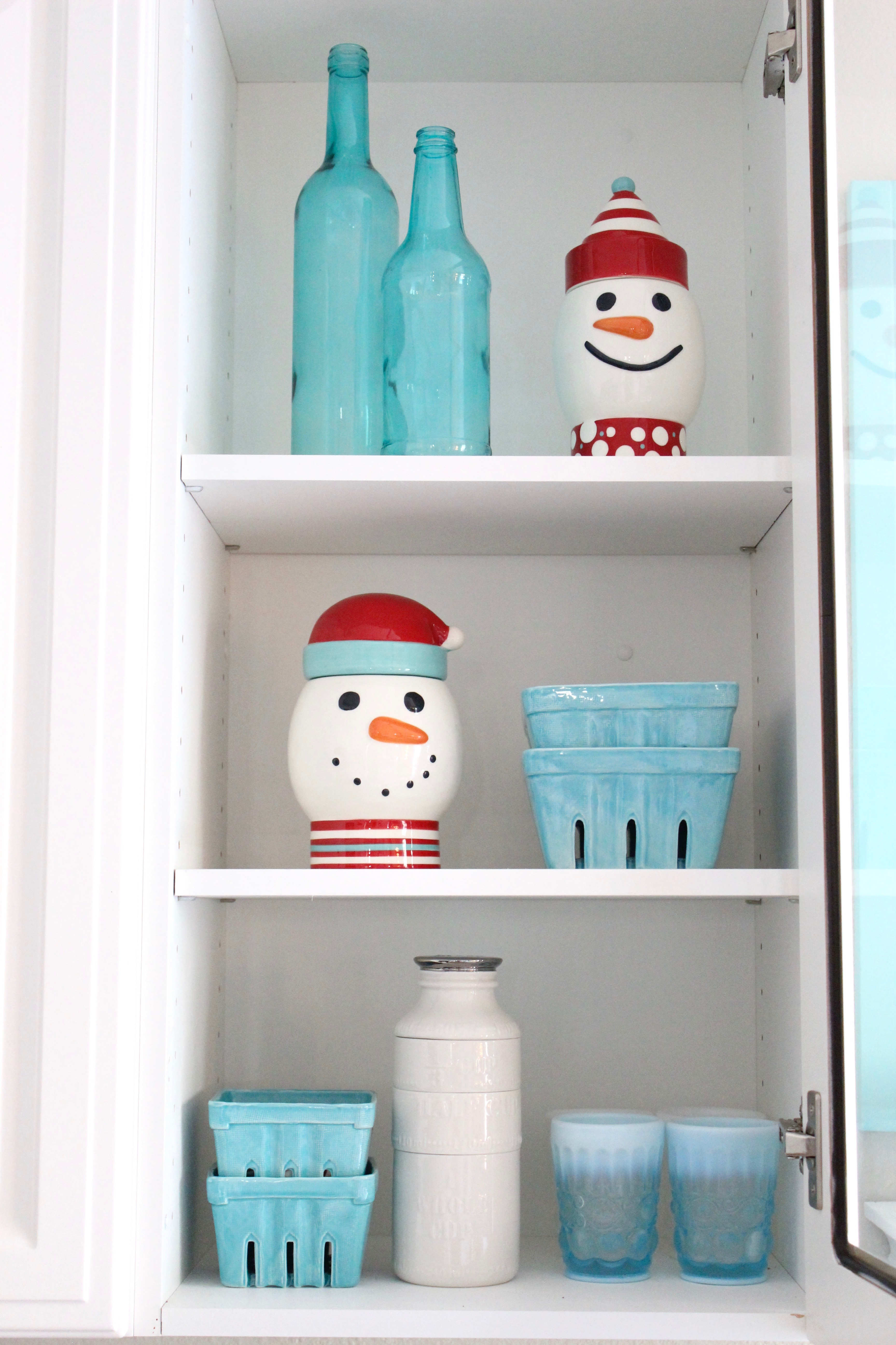 Snowman Canisters